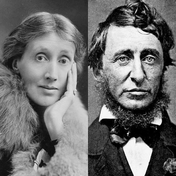 Virginia Woolf and Henry David Thoreau