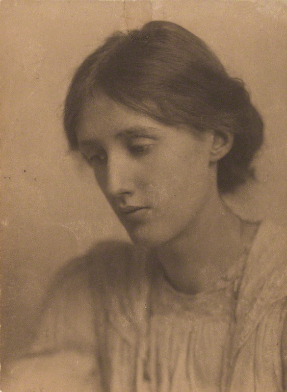 Virginia Woolf photographed by George Charles Beresford in July of 1902